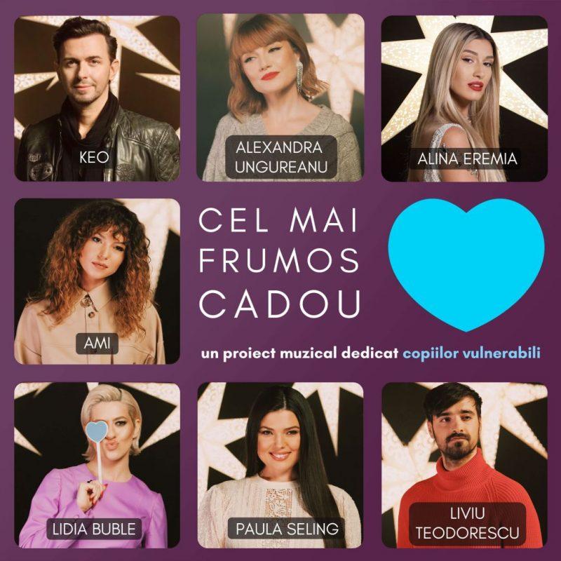 "Keo, Alexandra Ungureanu, Alina Eremia, AMI, Lidia Buble, Paula Seling și Liviu Teodorescu aduc ""Cel mai frumos cadou"" – VIDEO : VIRGIN RADIO ROMANIA"